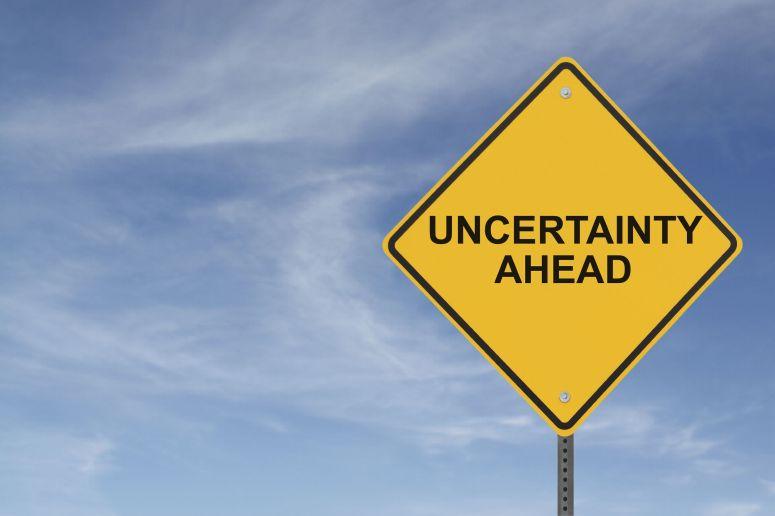 uncertainty-ahead